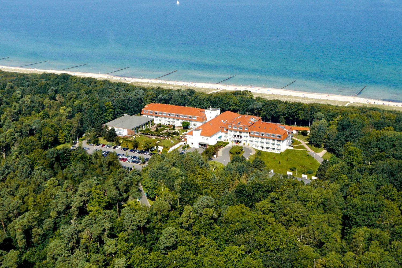 Ostsee Hotel Luftbild