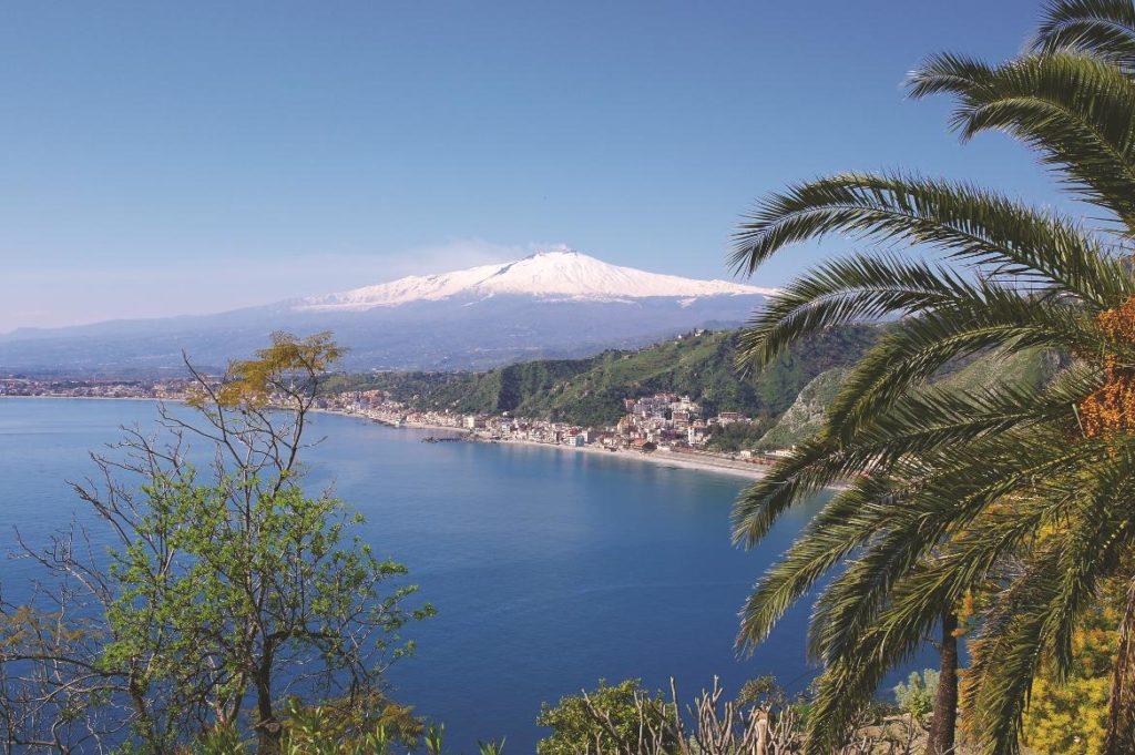Sizilien Ätna bei Naxos