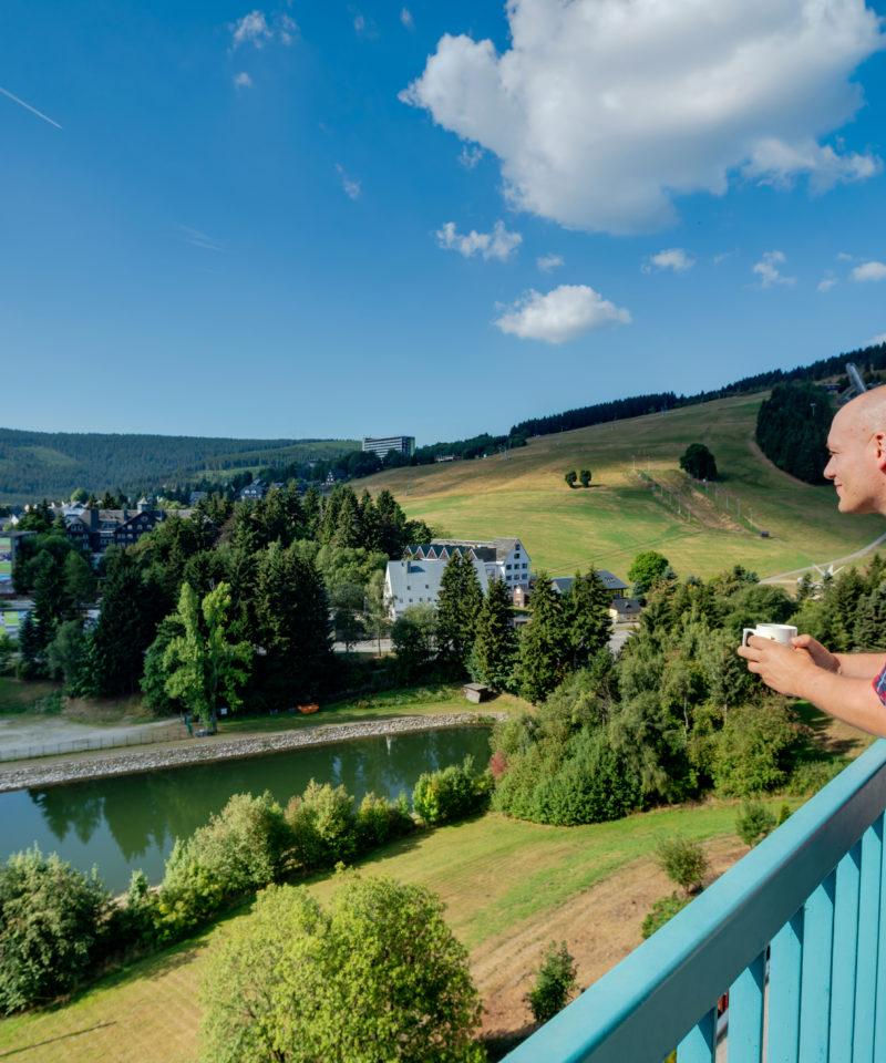 Erzgebirge Best_Western_Ahorn_Hotel_Oberwiesenthal-ausblick-balkon