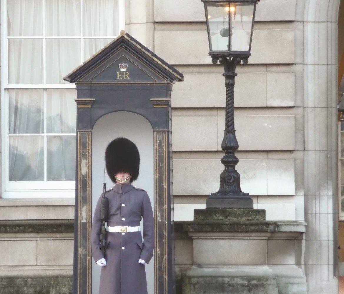 London Palastwache Busreise