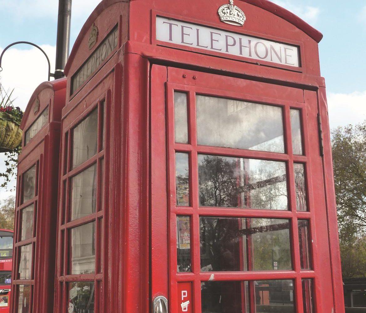 London Telefonzelle Busreise