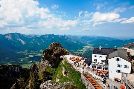 Bayrische Alpen Umgebung_Wendelstein