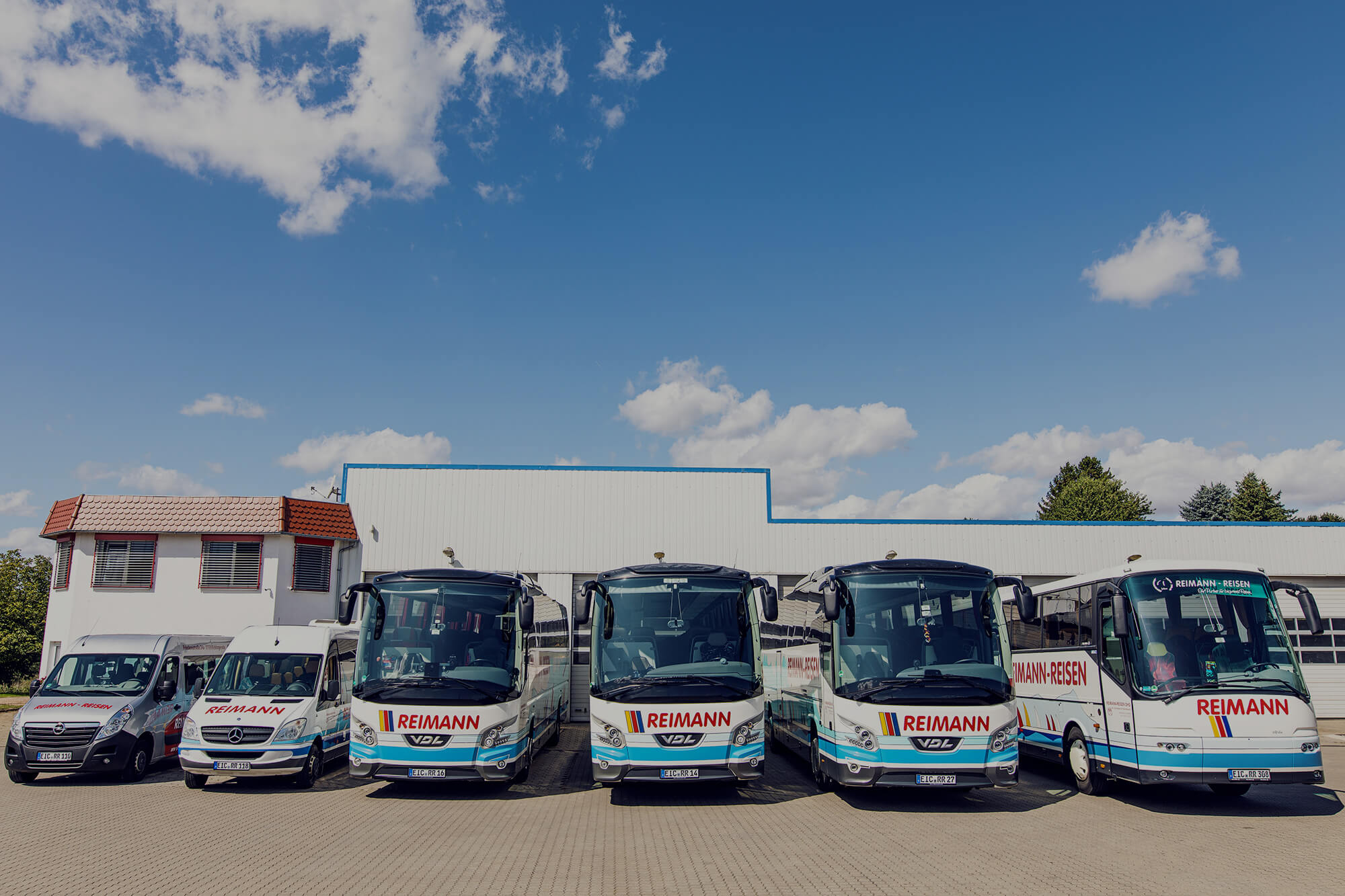 Reimann-Reisen Busse Fuhrpark